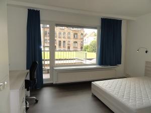 Studentenresidentie Mechelen Egmont - Uitzicht achterkant