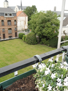 Studentenresidentie Mechelen Egmont - Uitzicht achterkant boven