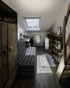 brusselse kamer zonder douche